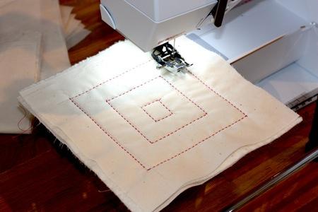 Stitching Decoratively Modern Domestic Extraordinary Hand Stitch Look Sewing Machine