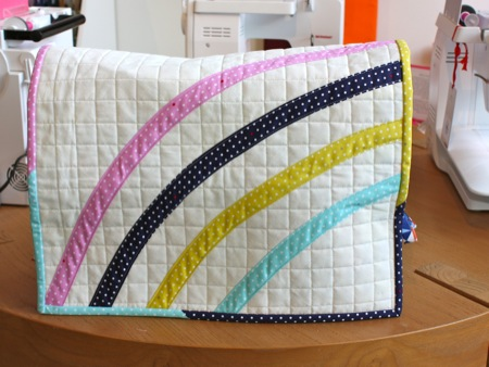 Patchwork Society June Tutorial-Quilted Sewing Machine Cover ...
