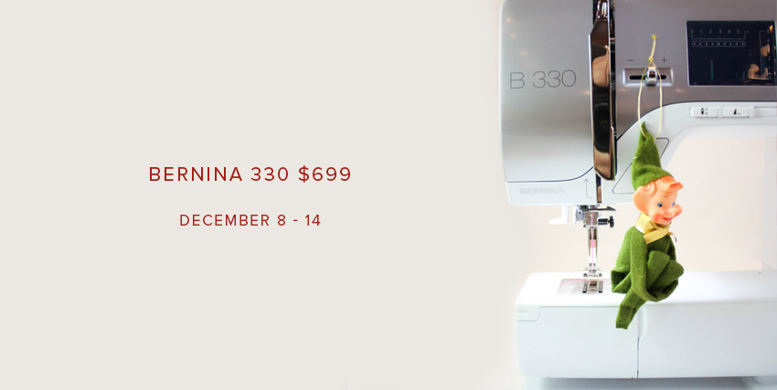 BERNINA 330 $699 at Modern Domestic