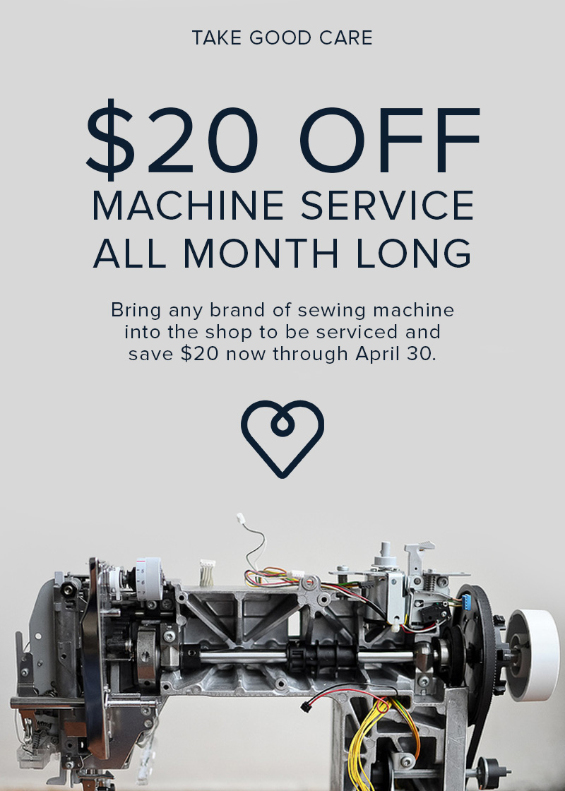 service promo april Modern Domestic