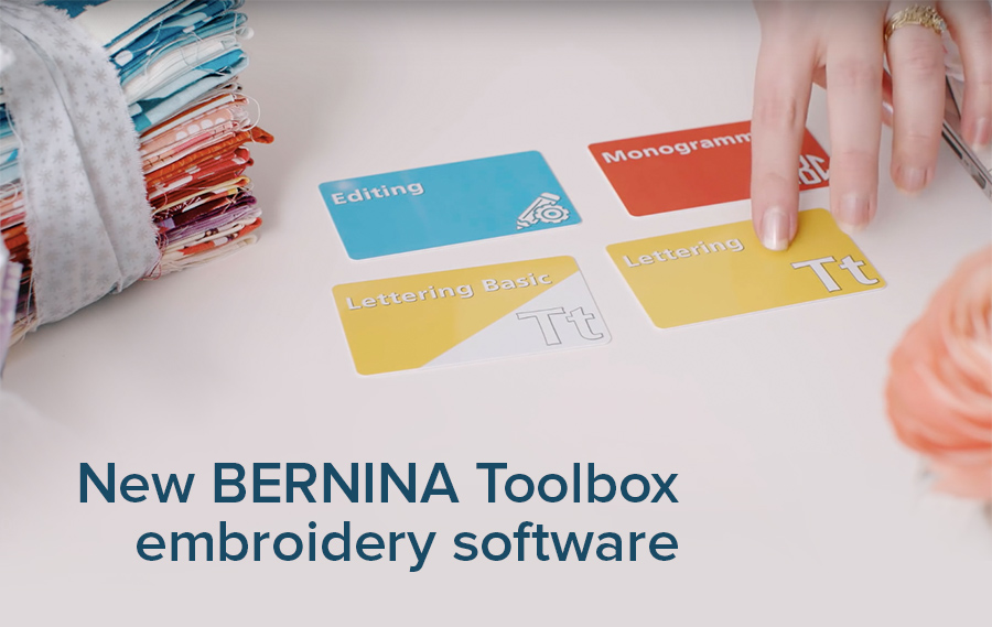 New Bernina Toolbox Embroidery Software Modern Domestic