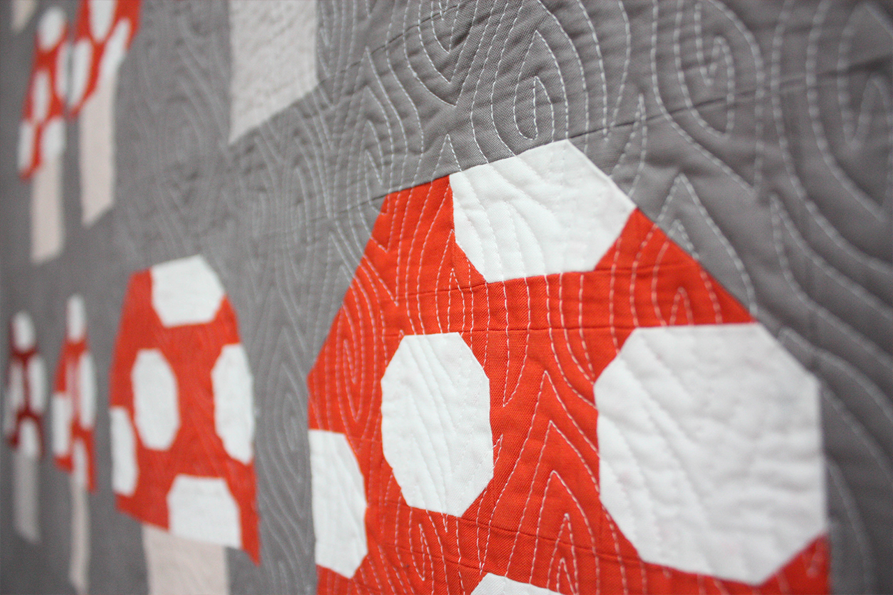 Tiger Lily Kona COTY Quilts at Modern Domestic Portland, OR