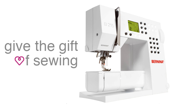 BERNINA 215 at Modern Domestic
