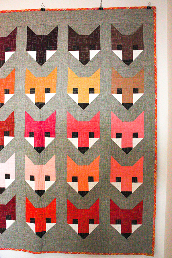 Foxes by Elizabeth Hartman