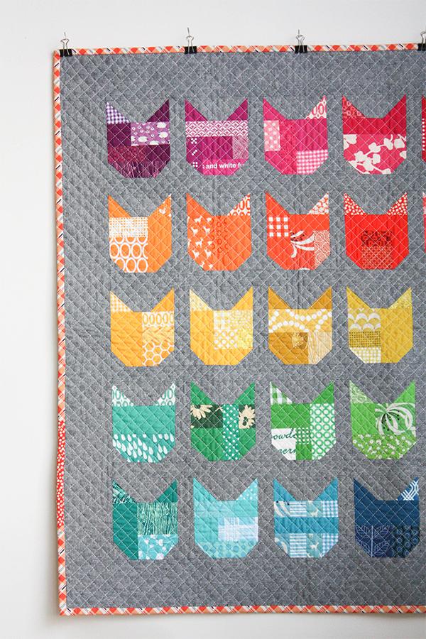 Cat Quilt by Elizabeth Hartman