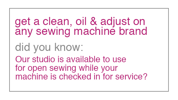 Sewing Machine Service at Modern Domestic