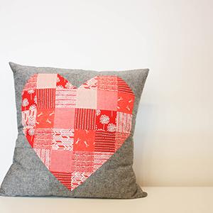 Heart Pillow Class   Modern Domestic