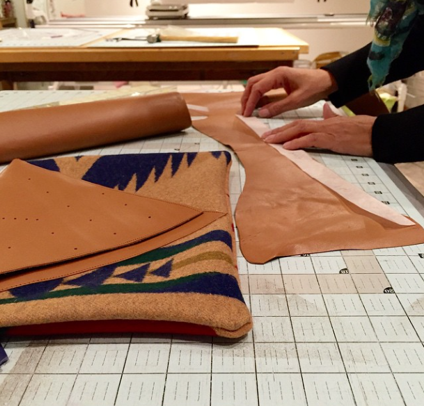 Leather Clutch Class at Modern Domestic