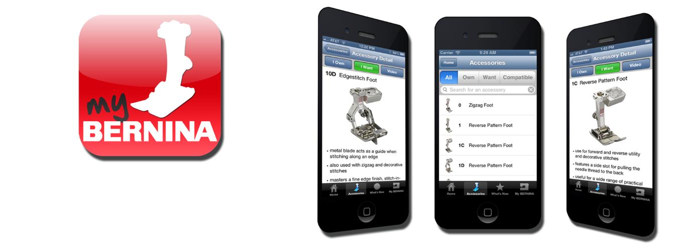 bernina app and Modern Domestic