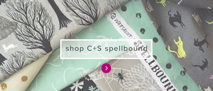 cotton steel spellbound | Modern Domestic