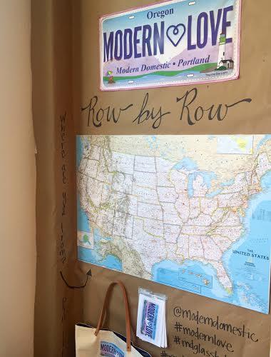 Row by Row Map | Modern Domestic | Portland, OR