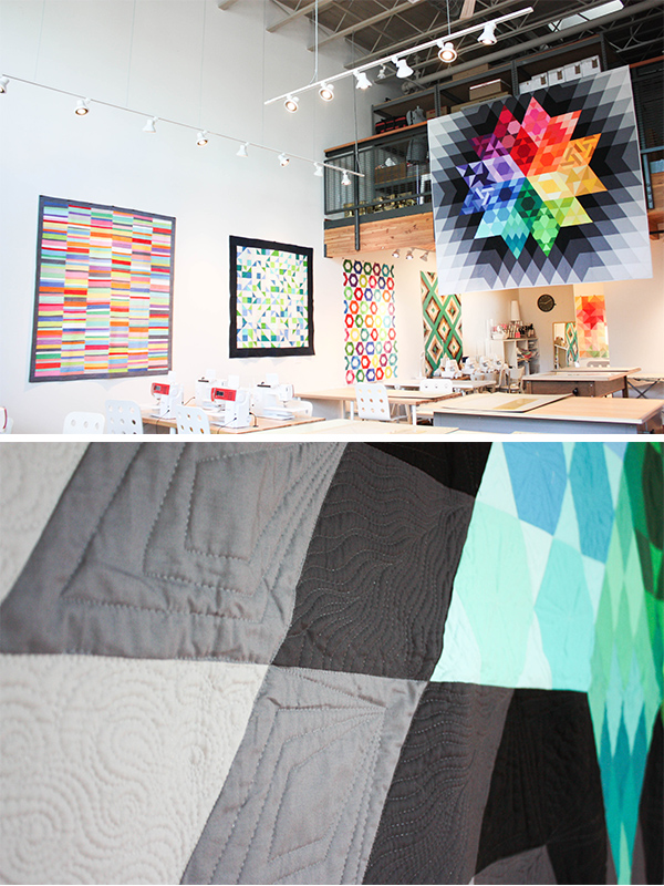 Gravity Quilt | Kona Cotton Solids | MD Gallery