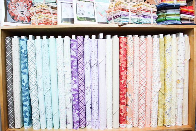 highlands fabric by Violet Craft