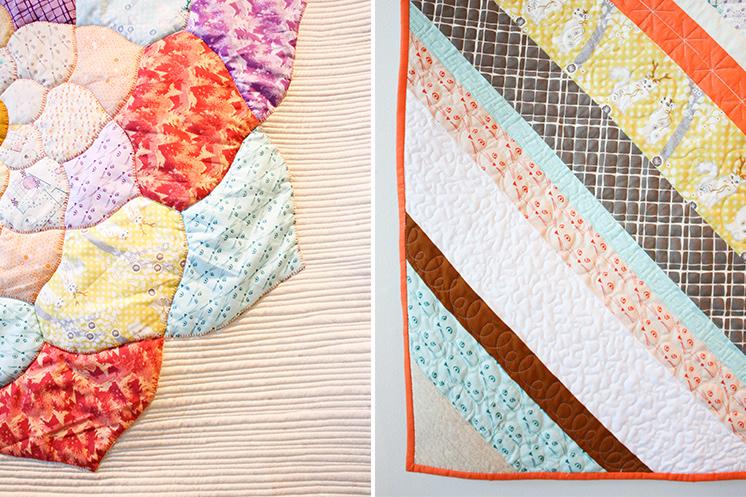 Violet Craft Highlands Quilts Modern Domestic