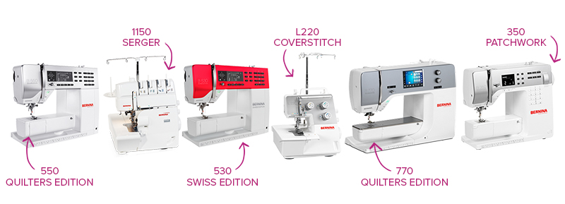 shop BERNINA with MD!