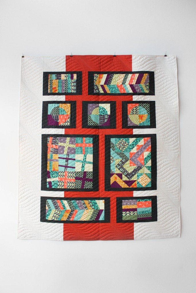 MD Patchwork Society Improv Quilt