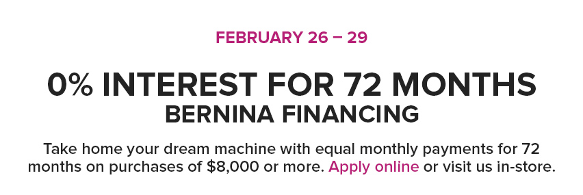72 month financing