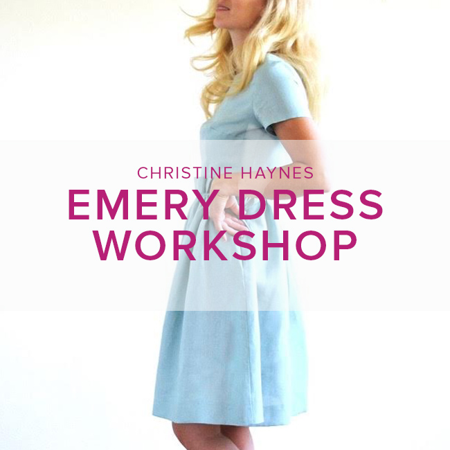christine haynes workshop emery dress