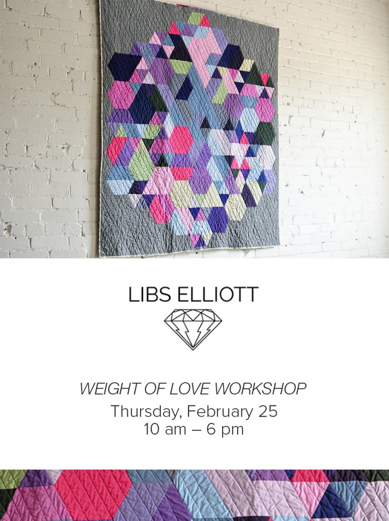 libs elliott workshop Modern Domestic
