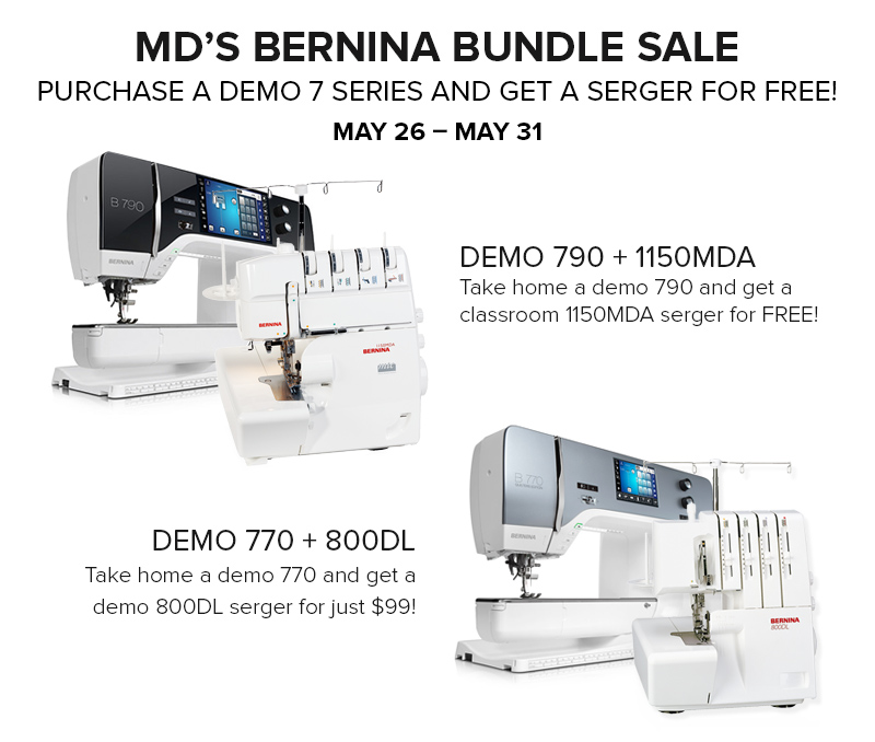 MD's Best BERNINA Bundle + Fabric Sale! | Modern Domestic