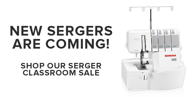 new sergers BERNINA 450