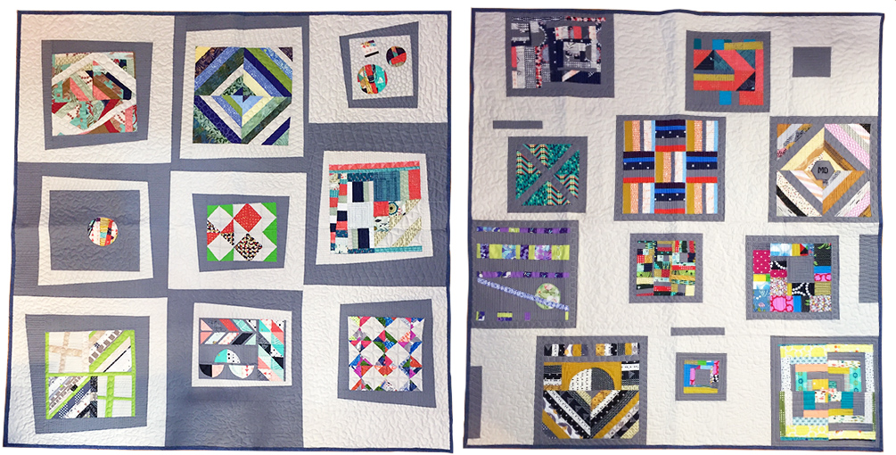 raffle quilts Modern Domestic