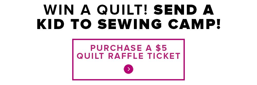 win a quilt raffle - Modern Domestic