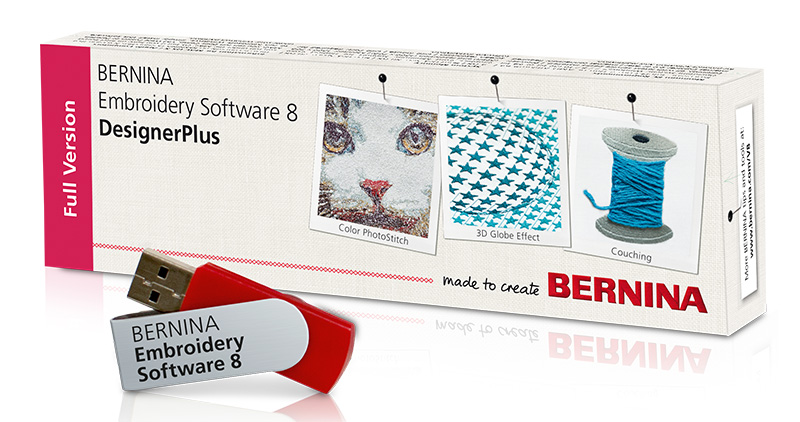 V8 Embroidery Software BERNINA | Modern Domestic