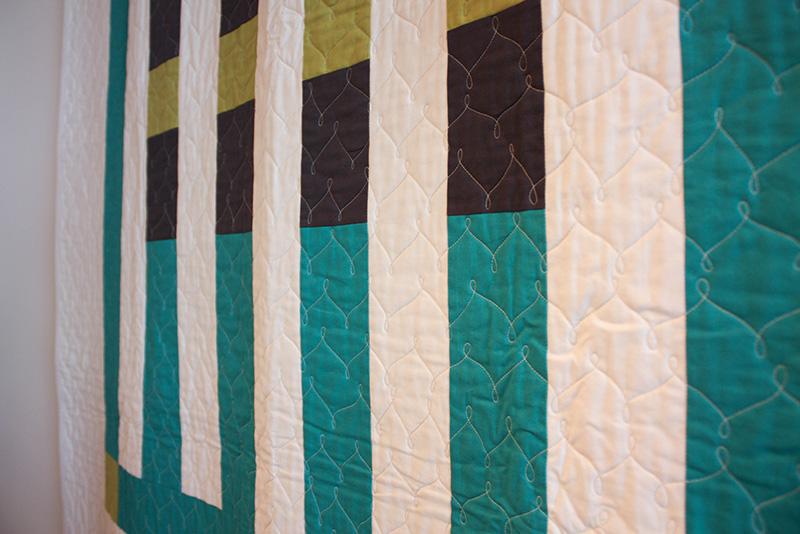Heather Jones Modern Quilt | Modern Domestic