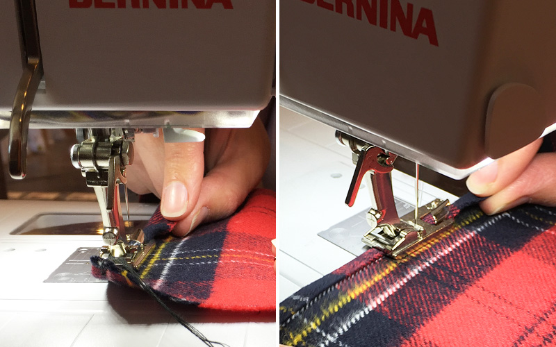 Modern Domestic Woven Flannel Scarf