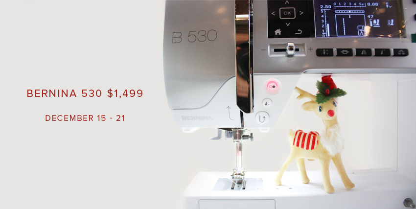 BERNINA 530 $1,499 at Modern Domestic