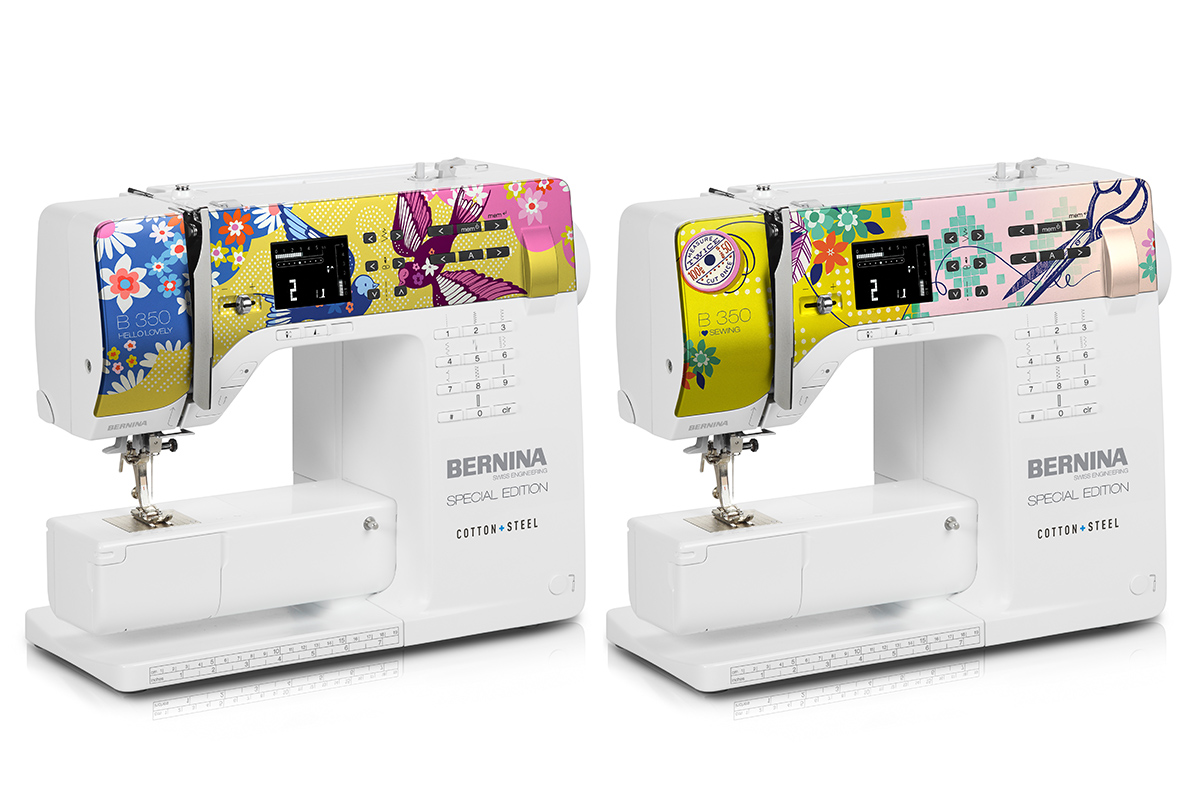 Cotton and Steel BERNINA Special Edition 350 available for Preorder at Modern Domestic