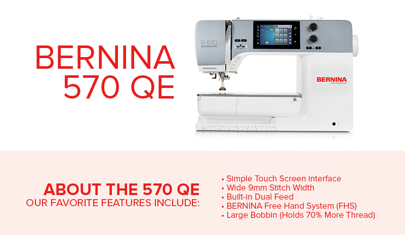 bernina 570 classroom 2019 - Modern Domestic