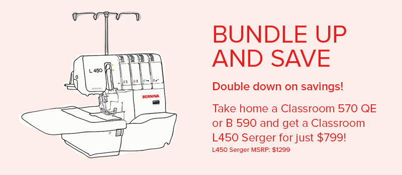 BERNINA Classroom Clearance Bundle