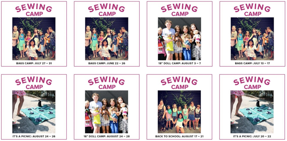 kids camps 2020 Modern Domestic Portland, OR and Lake Oswego, OR