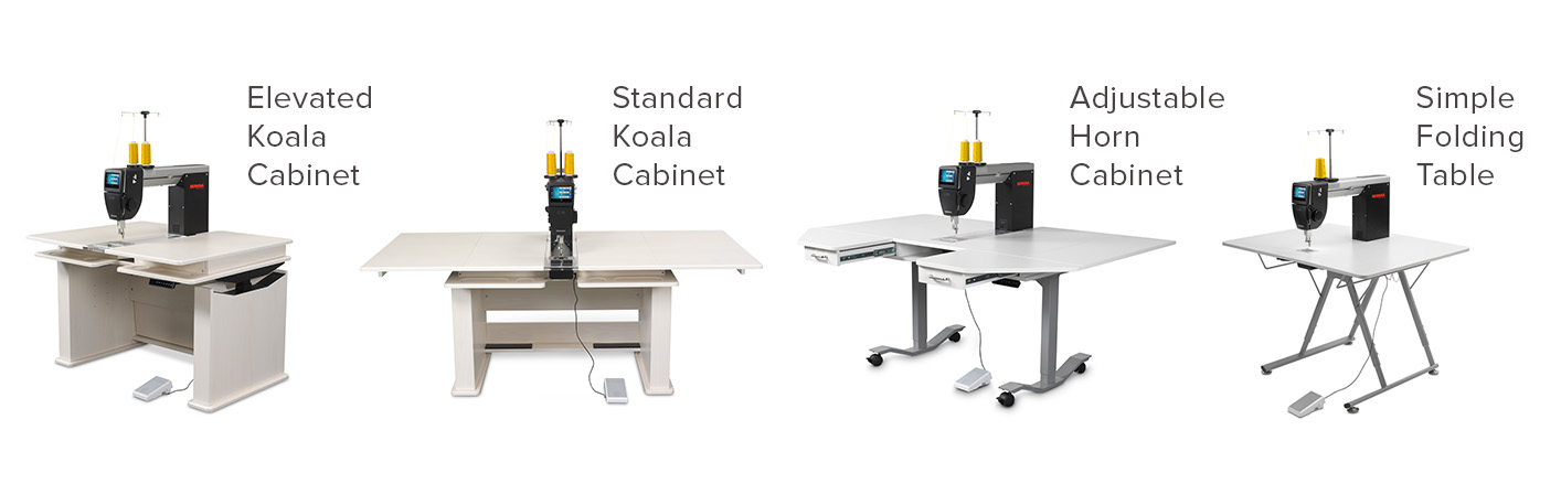 Q Series Cabinets and Tables BERNINA